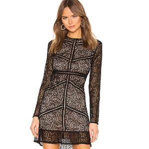 Bardot Sasha Black Lace Dress